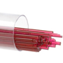 Bullseye Glass Stringer, 1311 Cranberry Pink