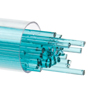 Bullseye Glass Stringer, 1408 Light Aquamarine Blue