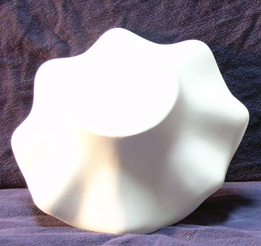 3103 Fluted Bowl