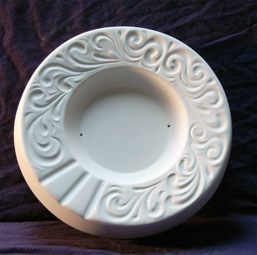 3110 Scroll Ashtray