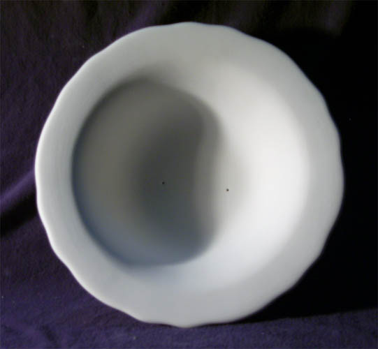 378 Scalloped Round Bowl