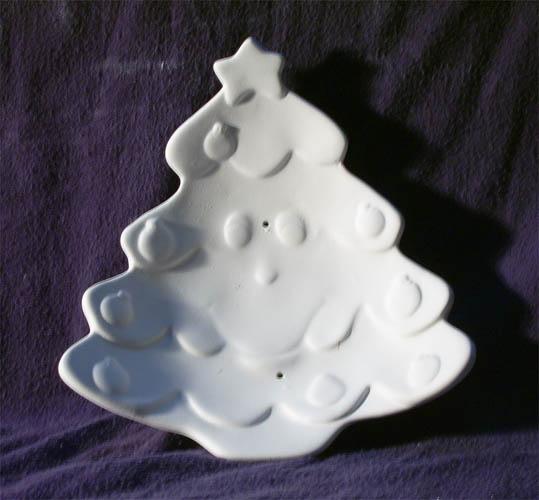 5000793 Merry Christmas Tree Dish