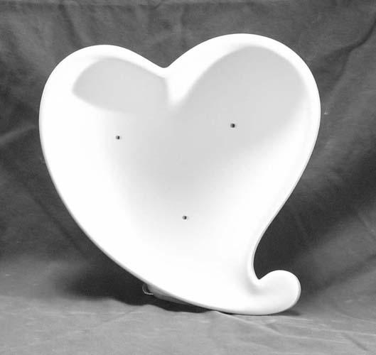 5001056 Funky Heart Dish