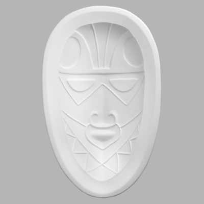 GM911 African Mask Oval
