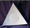 2110 Large Triangle Platter