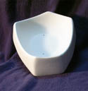2231 Snack Dish Flat Bottom