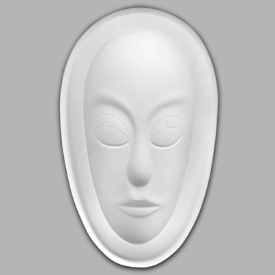 GM913 African Mask Plain